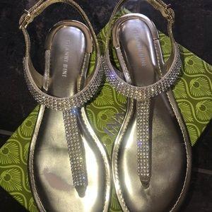 Gianni Bini rhinestone sandals